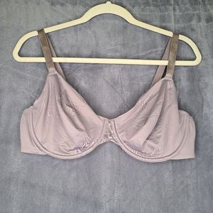 Auden Unlined Bra with underwire - Taupe